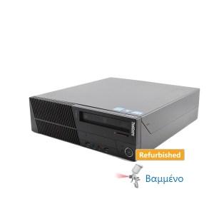 Lenovo M82 SFF i3-3220/4GB DDR3/250GB/DVD-RW/8P Grade A Refurbished PC   ELABSTORE.GR