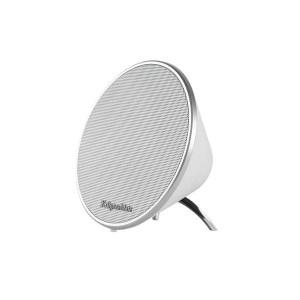Φορητό Ηχείο Bluetooth 5W w/Hands-Free Λευκό kruger & Matz   Περιφερειακά   elabstore.gr
