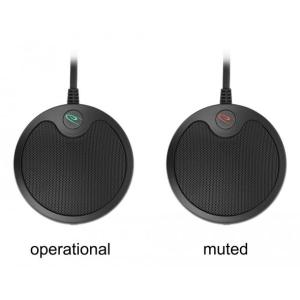 DELOCK μικρόφωνο 20672, πυκνωτικό, omnidirectional, με mute, USB   Συνοδευτικά PC   elabstore.gr
