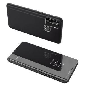 POWERTECH θήκη Clear view MOB-1517, Huawei Y6p, μαύρη | Αξεσουάρ κινητών | elabstore.gr