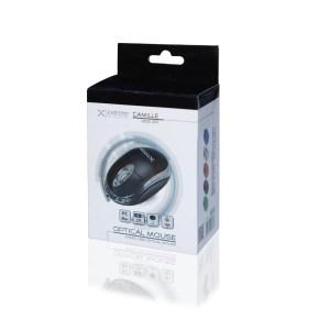 Ενσύρματο Ποντίκι 3D USB μαύρο XM102K   Περιφερειακά   elabstore.gr