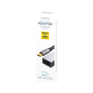 Adaptor HQ USB Type C to HDMI 4K 30Hz Platinet | Πληροφορικής | elabstore.gr
