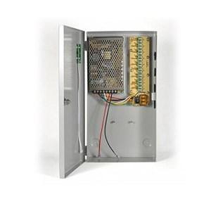 Τροφοδοτικό + Φορτιστής CCTV Κάμερας 12V 11.5A 9 εξόδους | Συστήματα Παρακολούθησης | elabstore.gr