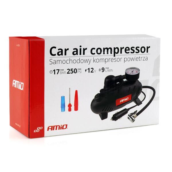 AMIO συμπιεστής αέρος αυτοκινήτου 02181, 12V, 250PSI, 17bar | Gadgets | elabstore.gr