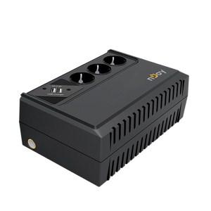 UPS 650VA Renton LINE INTERACTIVE w/USB PORT | Προστασία Ρεύματος UPS | elabstore.gr