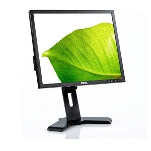 """Used Monitor 1908FPx TFT/DELL/19""""/1280x1024/Black/Grade B/D-SUB & DVI-D & USB HUB   Refurbished   elabstore.gr"""