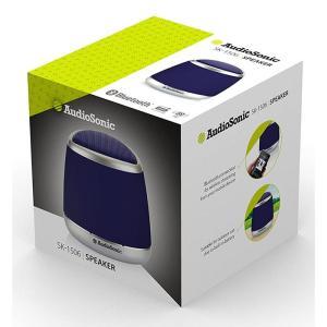 AUDIOSONIC φορητό ηχείο SK-1506, bluetooth/3.5mm, 400mAh, μπλε   Εικόνα & Ήχος   elabstore.gr