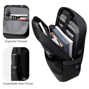 ARCTIC HUNTER τσάντα πλάτης B00398-BK με θήκη laptop, μαύρη | Οικιακές & Προσωπικές Συσκευές | elabstore.gr