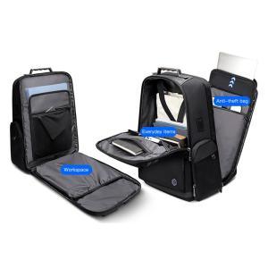 ARCTIC HUNTER τσάντα πλάτης B00415-BK με θήκη laptop, USB, μαύρη   Οικιακές & Προσωπικές Συσκευές   elabstore.gr
