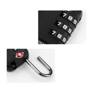 CTECH λουκέτο ασφαλείας συνδυασμού CTL-0007, 28mm, TSA, μεταλλικό, μαύρο   Gadgets - Αξεσουάρ   elabstore.gr