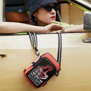 SUPER FIVE τσάντα ώμου K00110-OR, κόκκινη | Οικιακές & Προσωπικές Συσκευές | elabstore.gr