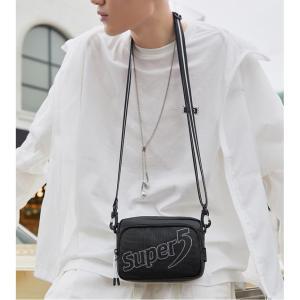 SUPER FIVE τσάντα ώμου K00123-BK, μαύρη | Οικιακές & Προσωπικές Συσκευές | elabstore.gr