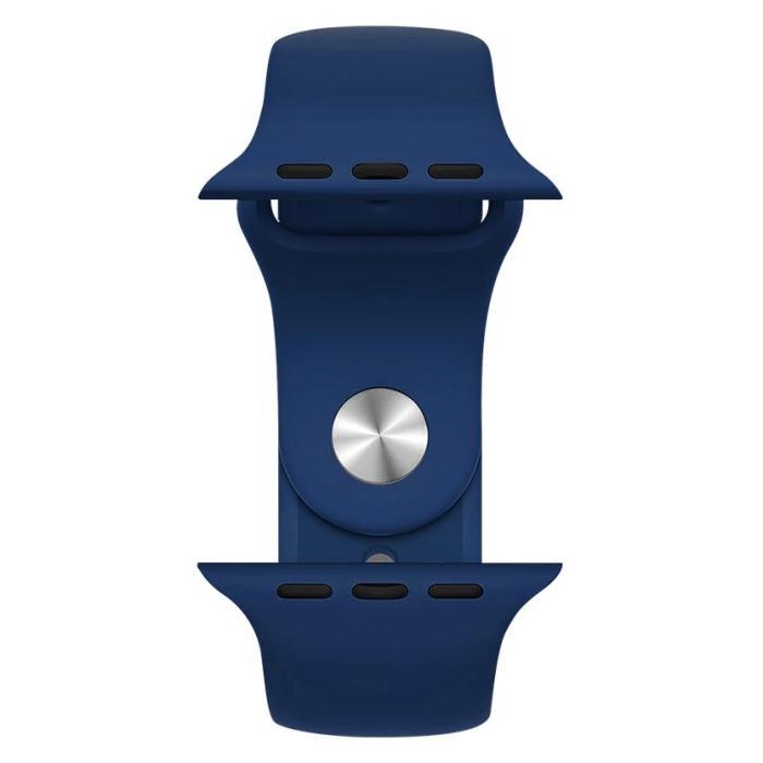 ROCKROSE band σιλικόνης Rough Jade για Apple Watch 42/44mm, μπλε | Mobile Συσκευές | elabstore.gr
