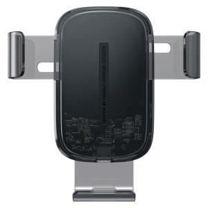 BASEUS ασύρματος φορτιστής και βάση αυτοκινήτου WXYL-K01, 15W, μαύρο   Αξεσουάρ κινητών   elabstore.gr