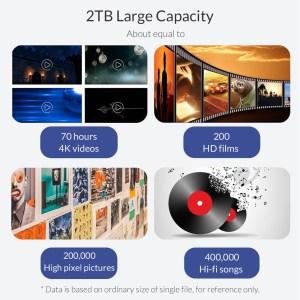 ORICO θήκη για Μ.2 B key SSD M2G-C3, USB 3.1, 5Gbps, 2TB, ασημί   Συνοδευτικά PC   elabstore.gr