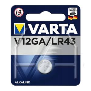 VARTA αλκαλική μπαταρία LR43, 1.5V, 1τμχ | Μπαταρίες | elabstore.gr