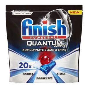 FINISH ταμπλέτες Quantum Ultimate Regular, 20τμχ   Οικιακές & Προσωπικές Συσκευές   elabstore.gr