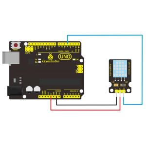 KEYESTUDIO DHT11 αισθητήρας θερμοκρασίας και υγρασίας KS0034   Gadgets - Αξεσουάρ   elabstore.gr