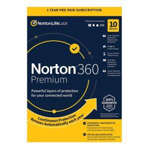 NORTON Antivirus 360 Premium ESD, 10 συσκευές, 75GB cloud, 1 έτος   Software   elabstore.gr