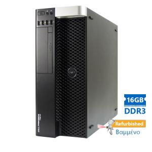 DELL T3610 Tower Xeon E5-1620v2(4-Cores)/16GB DDR3/500GB/Κάρτα Γραφικών 2GB/DVD/7P Grade A+ Workstat   Refurbished   elabstore.gr