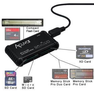 ACUVAR card reader MFALLCR1, SD/SDHC, Micro SD, CF, XD, MS/Pro, Duo Card   Συνοδευτικά PC   elabstore.gr