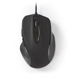NEDIS MSWD400BK Nedis Wired Mouse 800 / 1200 / 2400 / 3200 DPI 6-Button Black | ΠΕΡΙΦΕΡΕΙΑΚΑ Η/Υ & LAPTOP | elabstore.gr