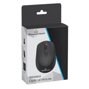 POWERTECH ασύρματο ποντίκι PT-953, οπτικό, 1600DPI, μαύρο   Συνοδευτικά PC   elabstore.gr