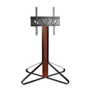 "NEDIS TVSM6050BK TV Floor Stand 43 - 65"" up to 35 kg Fixed Design Black / Mahoga | ΕΙΚΟΝΑ / ΗΧΟΣ | elabstore.gr"