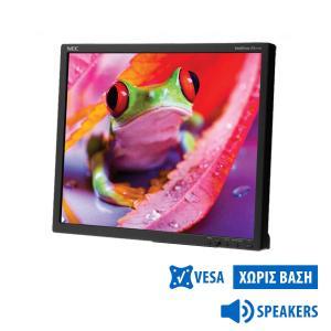 "Used Monitor EA191M TFT/NEC/19""/1280x1024/Black/No Stand/Grade B/w/Speakers/VGA & DVI-D   Refurbished   elabstore.gr"