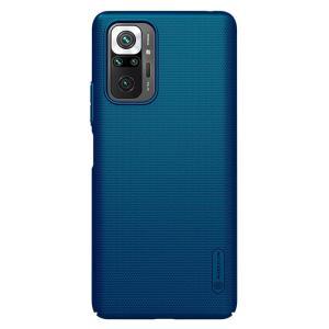 NILLKIN θήκη Super Frosted Shield για Xiaomi Redmi Note 10 Pro/Max, μπλε | Αξεσουάρ κινητών | elabstore.gr
