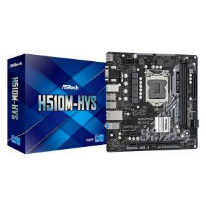 ASROCK μητρική H510M-HVS, 2x DDR4, s1200, USB 3.2, mATX   PC & Αναβάθμιση   elabstore.gr