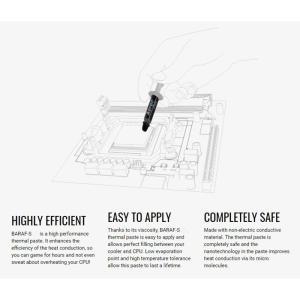 AEROCOOL θερμοαγώγιμη πάστα BARAF-S με σπάτουλα, 5.15W/mK, 3.5g   PC & Αναβάθμιση   elabstore.gr