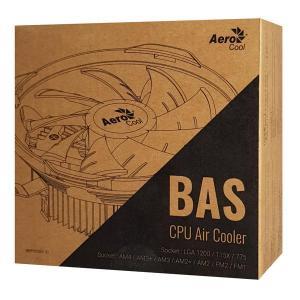 AEROCOOL ψύκτρα BAS-U-3P, 1800rpm, 26.3dBA, 59.8CFM   PC & Αναβάθμιση   elabstore.gr