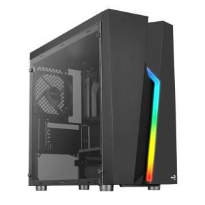 AEROCOOL PC case mini tower BOLT-MINI, 200.7x369.5x381mm, 1x fan, μαύρο | PC & Αναβάθμιση | elabstore.gr