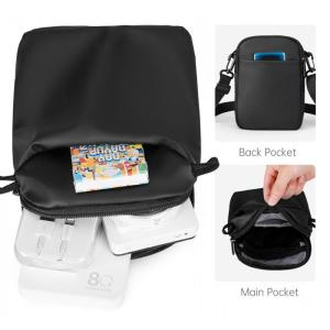 MARK RYDEN τσάντα ώμου MR8666, αδιάβροχη, μαύρη   Οικιακές & Προσωπικές Συσκευές   elabstore.gr