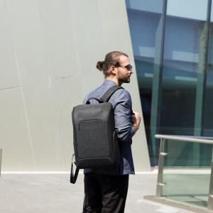 "MARK RYDEN τσάντα πλάτης MR9201, με θήκη laptop 15.6"", μαύρη   Οικιακές & Προσωπικές Συσκευές   elabstore.gr"
