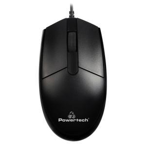 POWERTECH ενσύρματο ποντίκι PT-964, οπτικό, 1000DPI, μαύρο | Συνοδευτικά PC | elabstore.gr