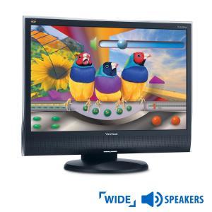 Used Monitor (A-) VG2230wm TFT/Viewsonic/22/1680x1050/Wide/Black/w/Speakers/VGA & DVI-D   Refurbished   elabstore.gr
