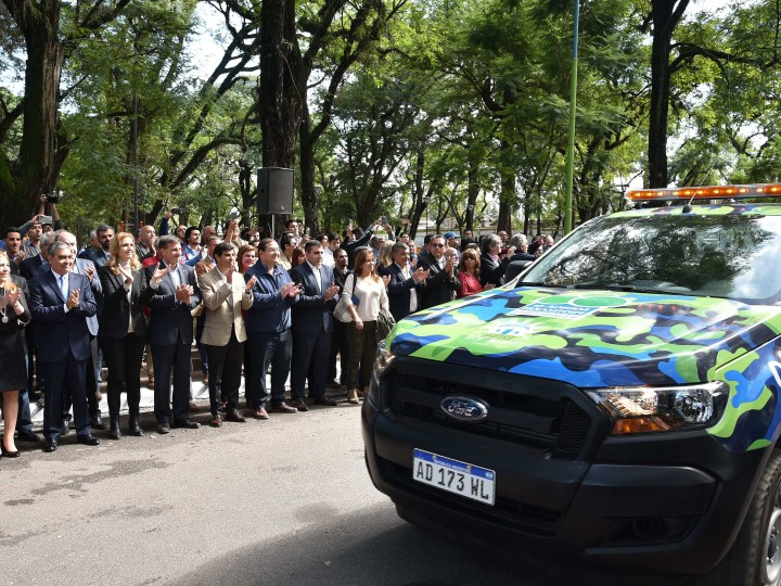 Una nueva agencia de policías para la capital de Tucumán