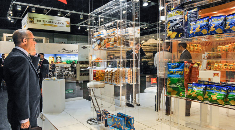 Una feria internacional para mostrar los productos del país