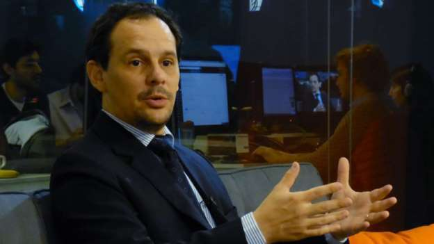 «El programa económico quedó roto», comentó Spotorno