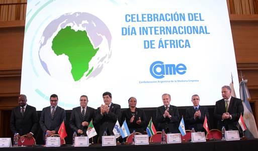 CAME y su intención sobre el terreno africano