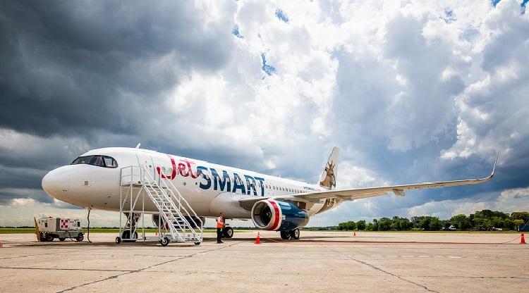 Jetsmart y un vuelo inaugural