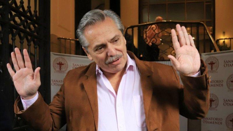 Alberto Fernández de campaña