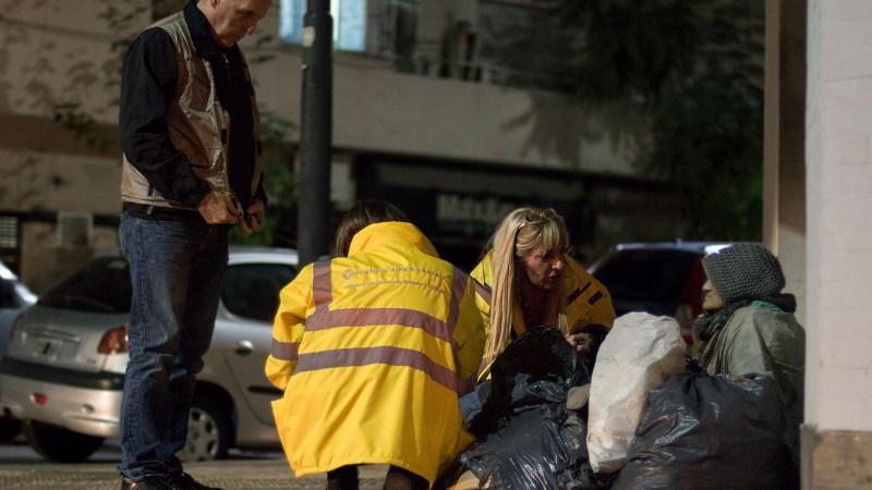«Veo mucha tristeza en la calle», comentó Flores