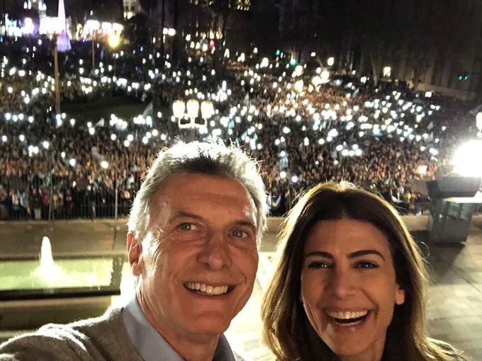 Macri: «Quiero decirles que los escuché, que se lo que están pasando»