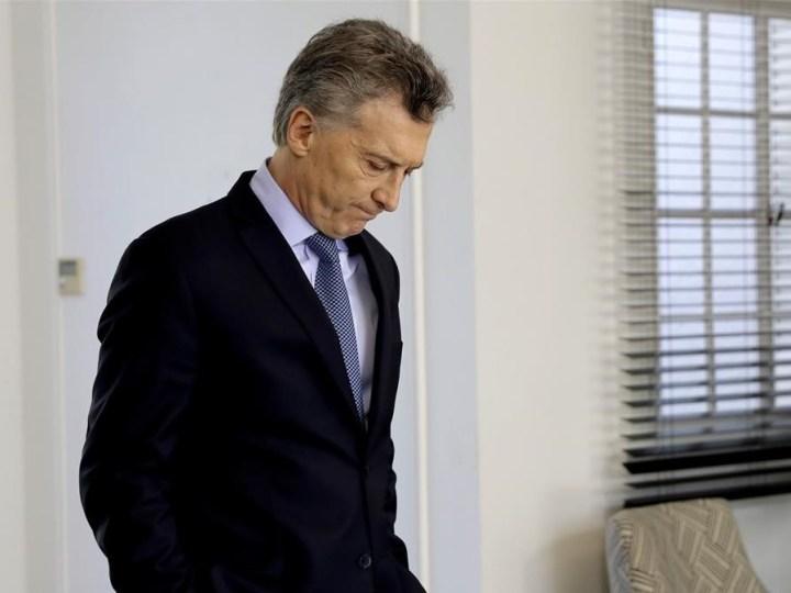 Graziano: «Mauricio Macri ya es un presidente interino»