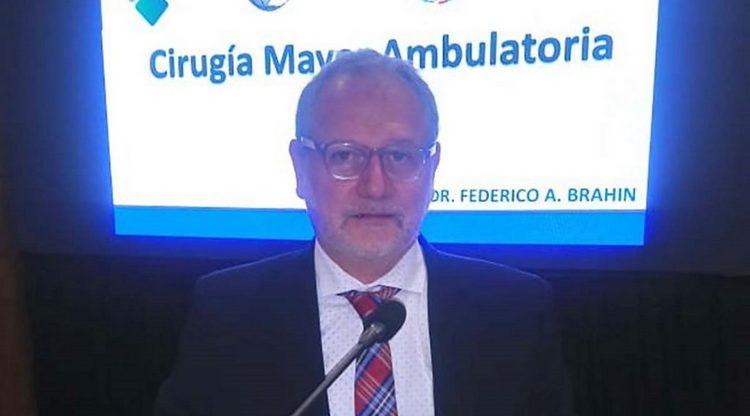 Federico Brahin fue destacado en el Congreso de Cirugía del Litoral
