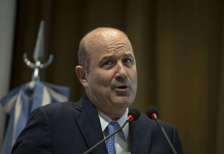 «La herencia macroeconómica recibida  no fue ideal, no se la puede culpar por los resultados», dijo Sturzenegger