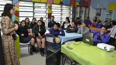 Photo of Dieron charlas a estudiantes secundarios, para prevenir la violencia